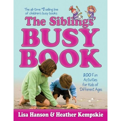 51rup4pio7l ss500  What We're Reading: The Siblings' Busy Book (including an author interview and book giveaway)